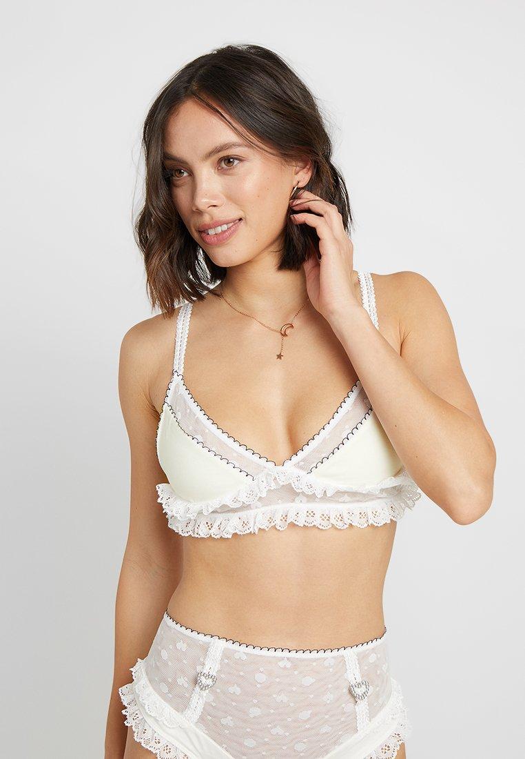 For Love & Lemons - ANTOINETTE BRA - Triangle bra - blanc