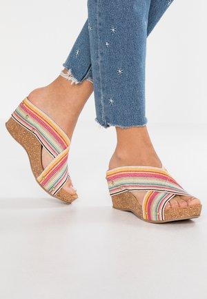 VENUS - Heeled mules - multicolor