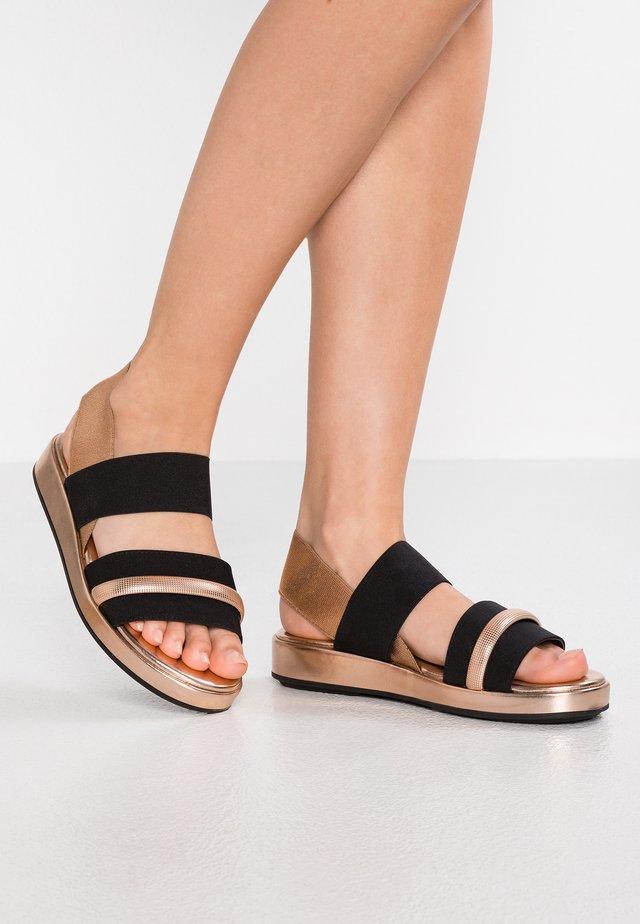 OXA - Sandaalit nilkkaremmillä - multicolor/cipria