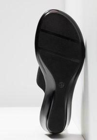 Fiore di Lucia Milano - CEDRO - Pantofle na podpatku - nero - 6
