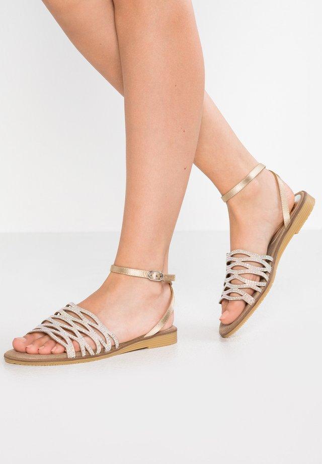 MEL - Sandals - taupe