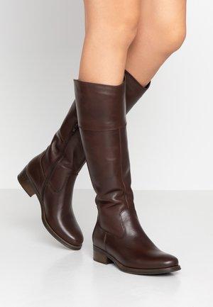 AMY - Høje støvler/ Støvler - brown
