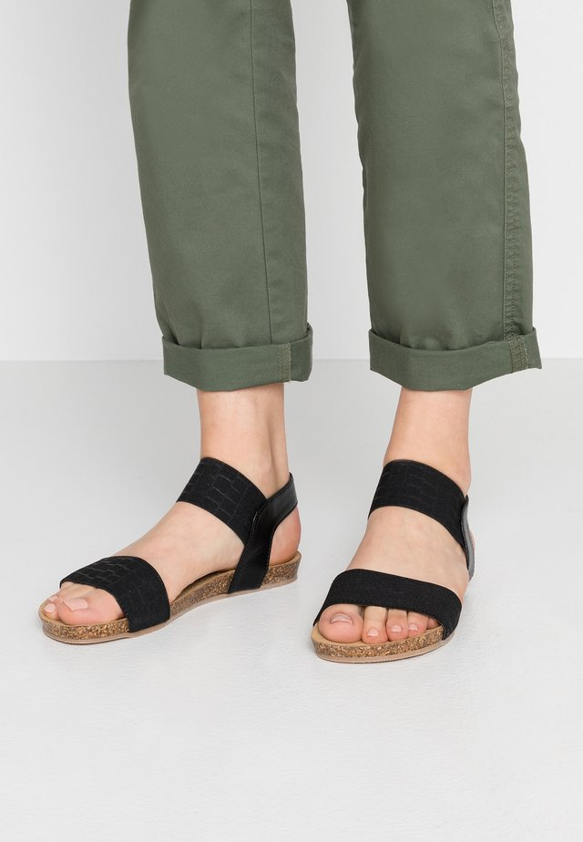 CARIBE - Sandals - nero