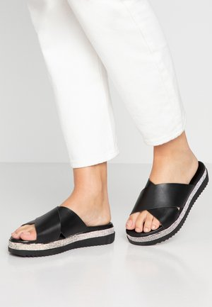 CACAO STRAS - Pantofle - nero