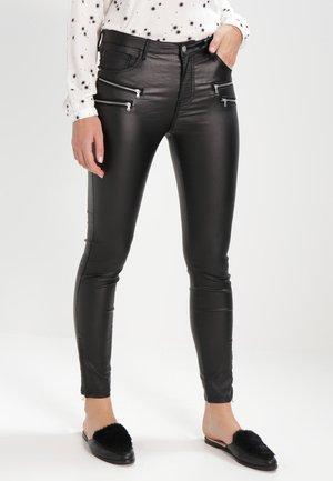 AIDA COOPER - Kalhoty - black