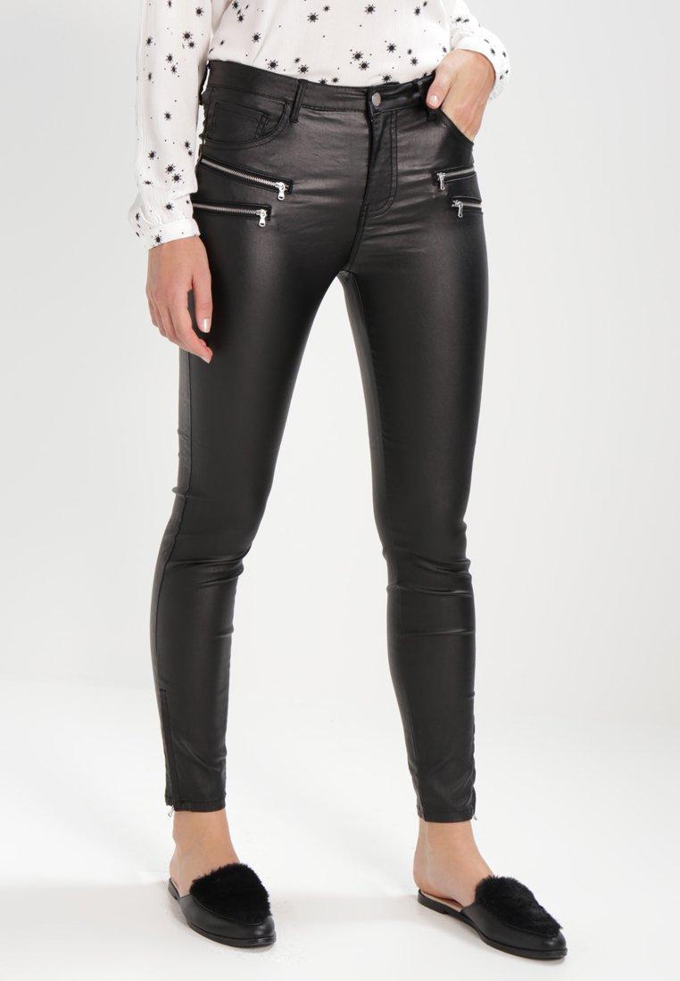 Freequent - AIDA COOPER - Trousers - black