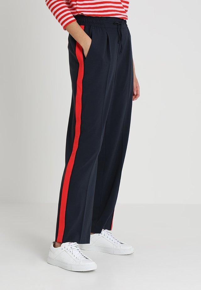 Bukser - navy blazer/red