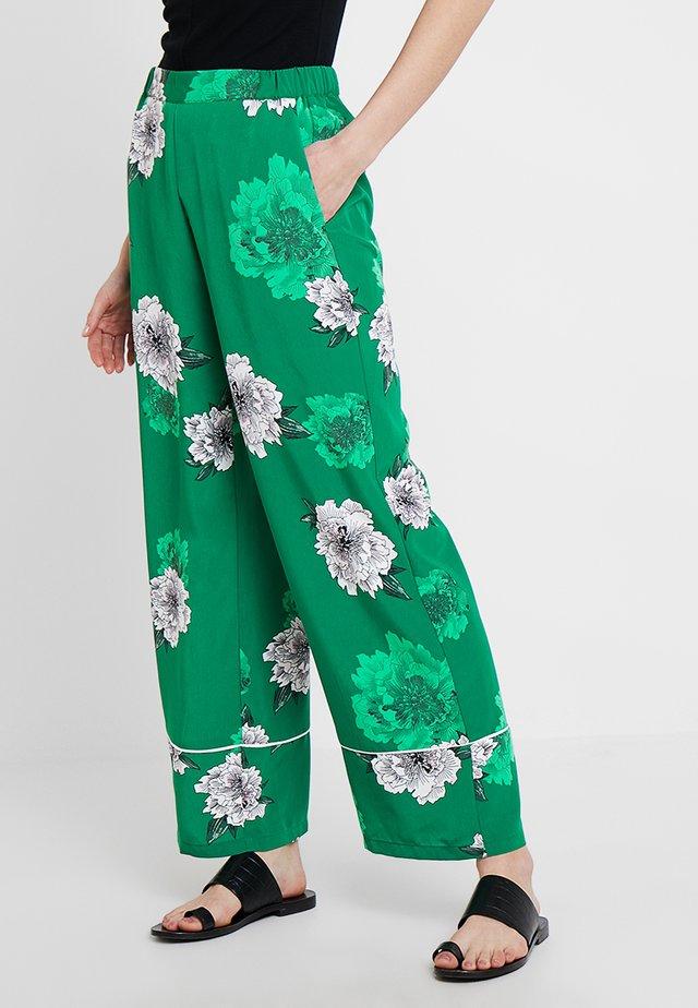 Stoffhose - forrest green