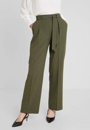Pantaloni - olive night melange