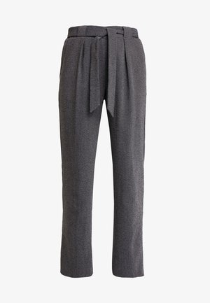 LIDY BELT - Spodnie materiałowe - black mix