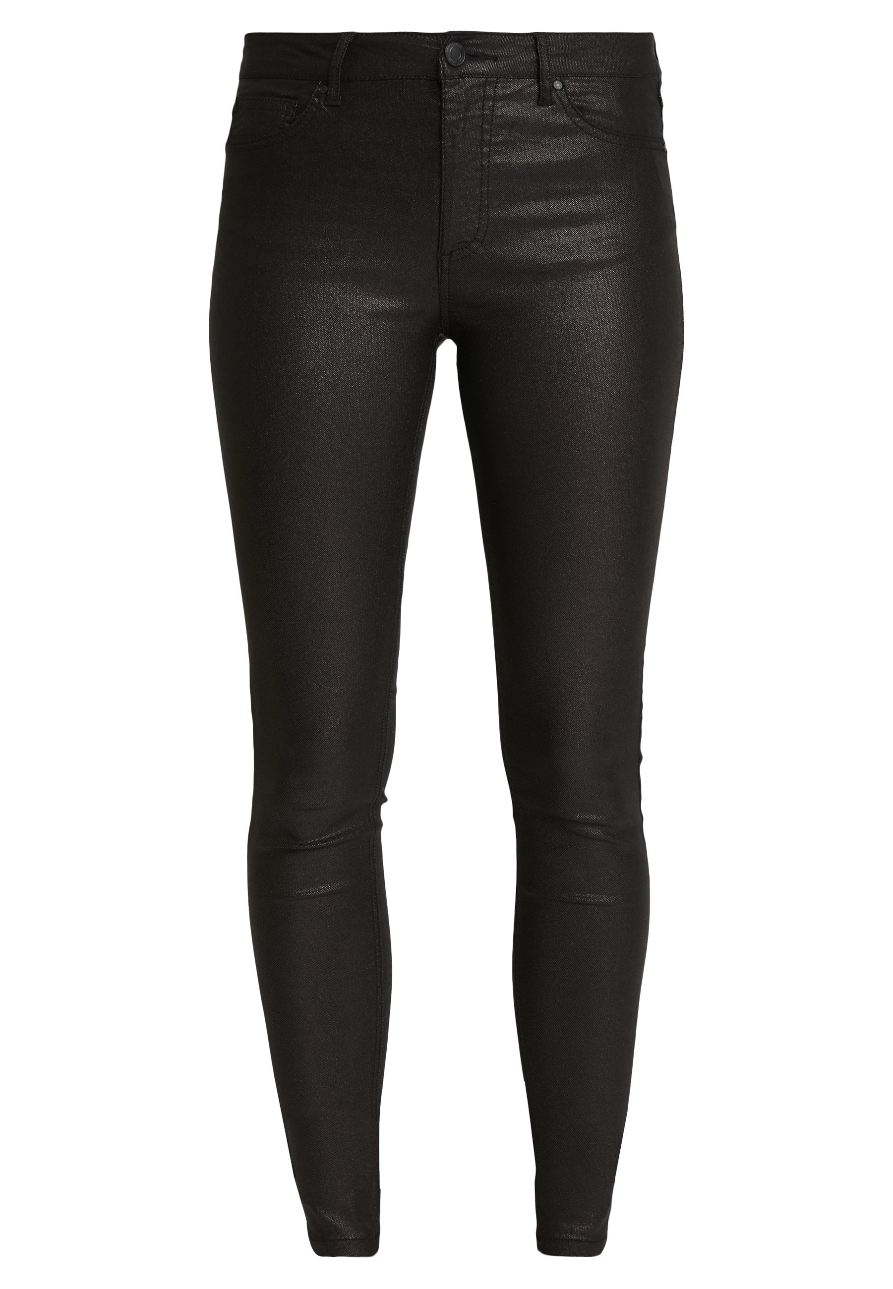 Freequent AIDA-PA-TWILL SHINE - Broek - black