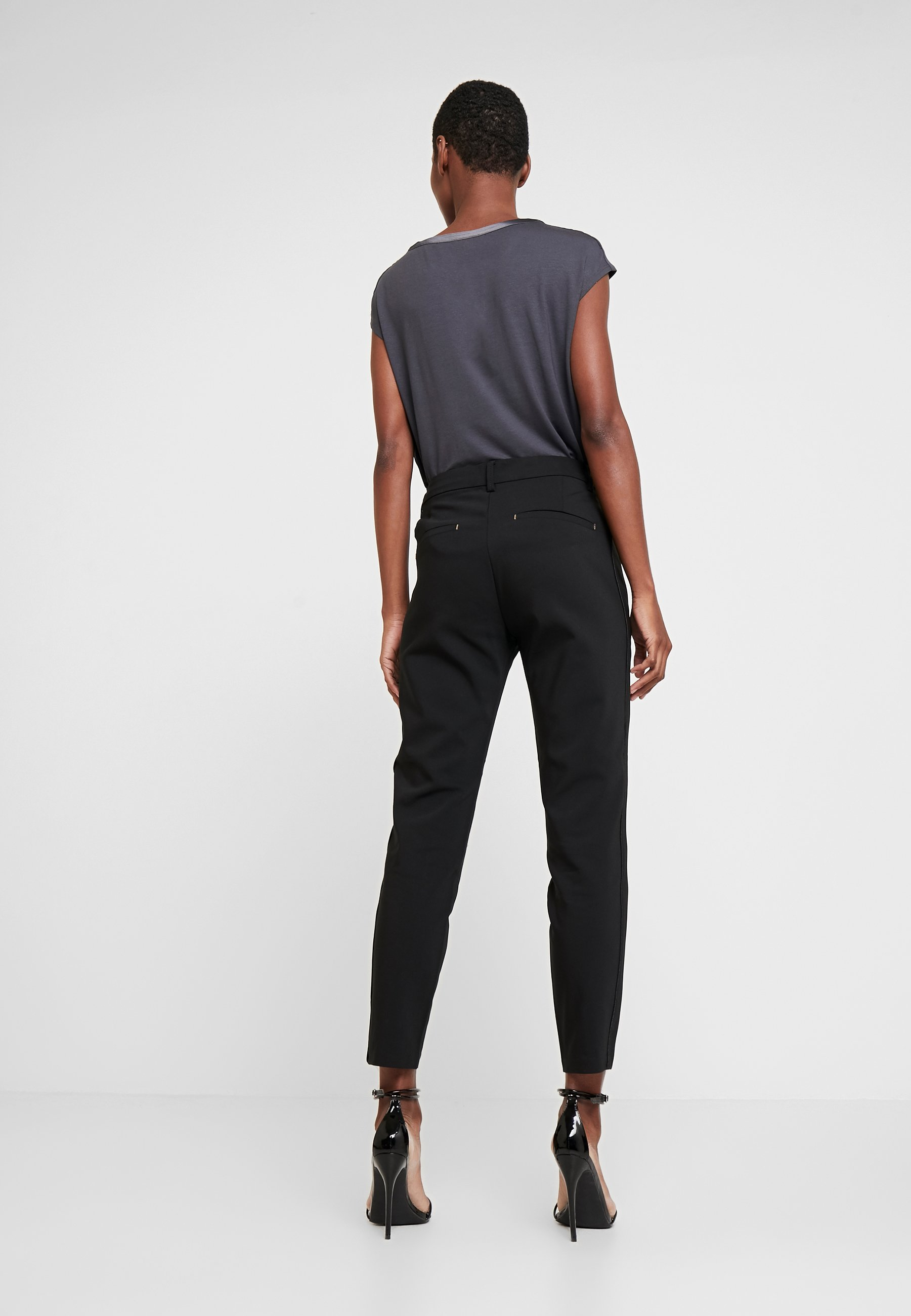 Freequent ISADORA ANKLE - Pantalon classique black