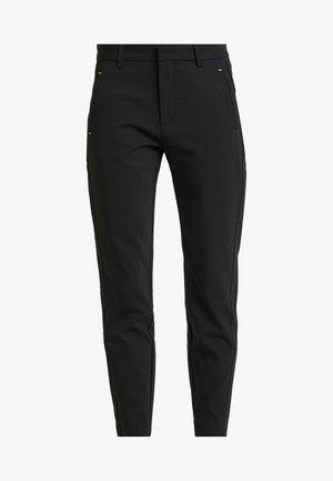 ISADORA ANKLE - Kalhoty - black