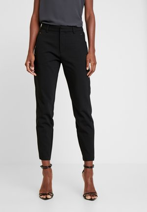 ISADORA ANKLE - Trousers - black
