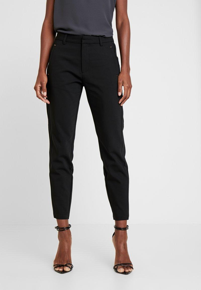 Freequent - ISADORA ANKLE - Kalhoty - black