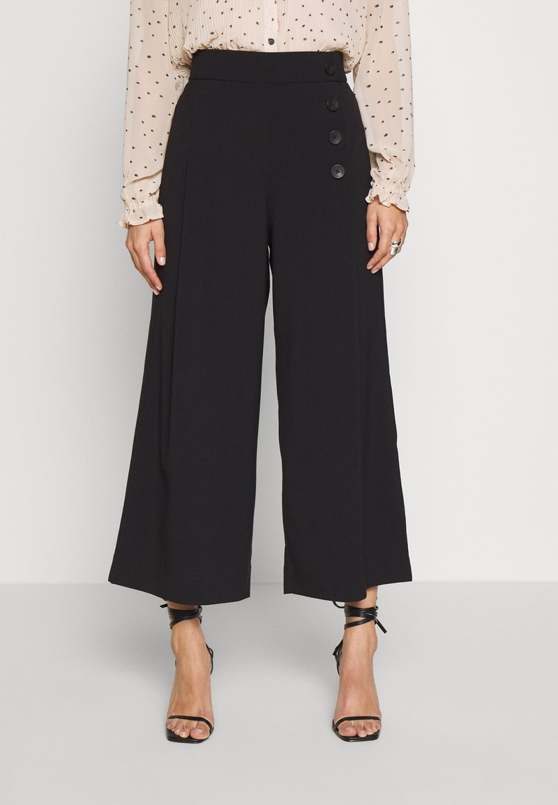 Freequent - MINO - Trousers - black