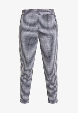 NANNI ANKLE PEPIT - Pantalon classique - navy