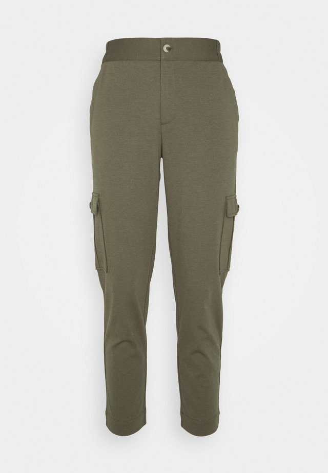 FQNANNI ANKLE CAR - Trousers - olive