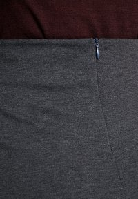 Freequent - A-line skirt - dark grey melange - 5