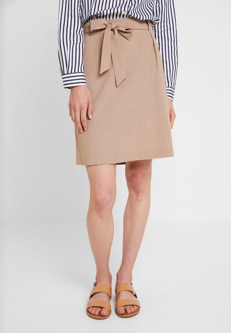 Freequent - A-line skirt - amphora melange