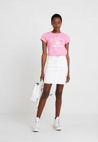 Freequent - Denim skirt - white denim - 1