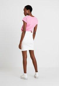 Freequent - Denim skirt - white denim - 2