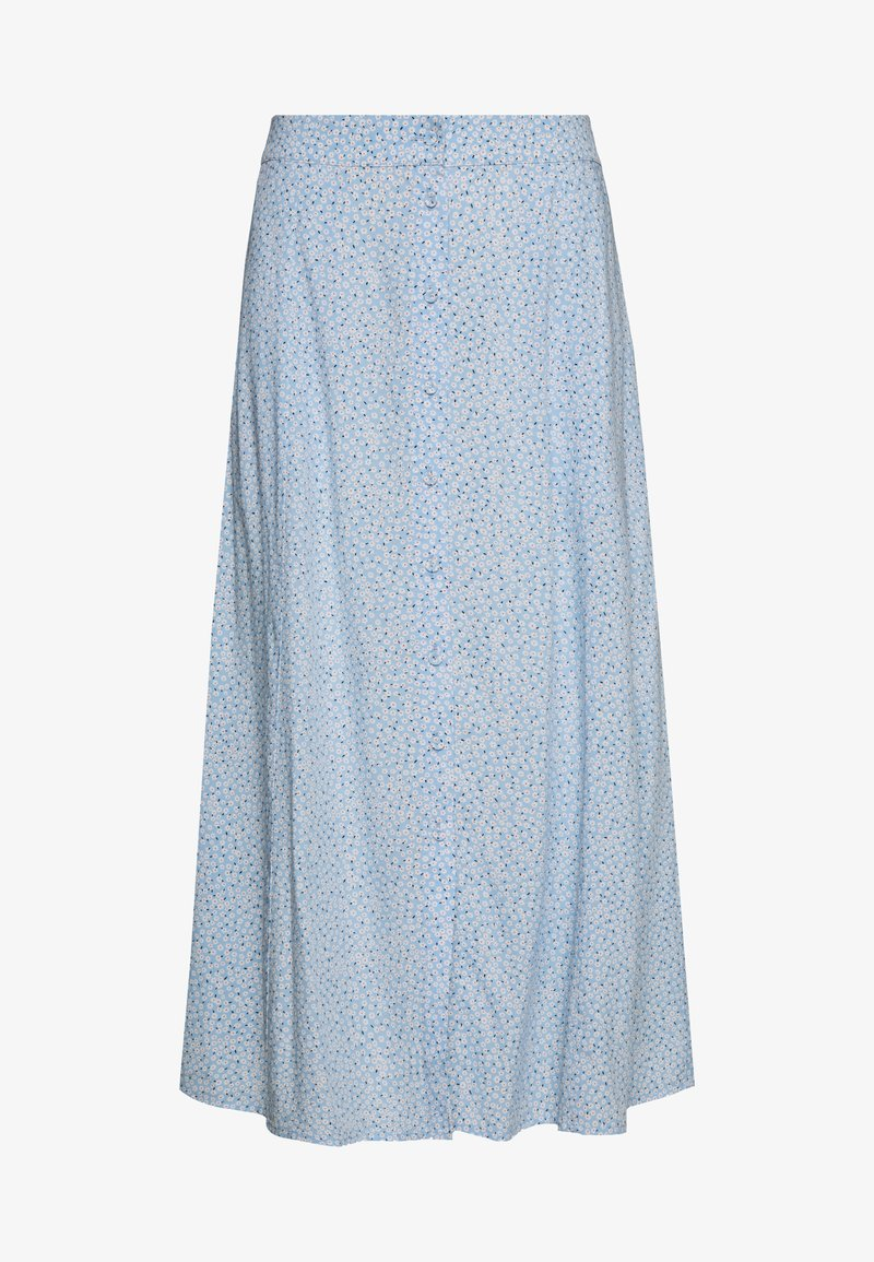 Freequent - A-line skirt - blue