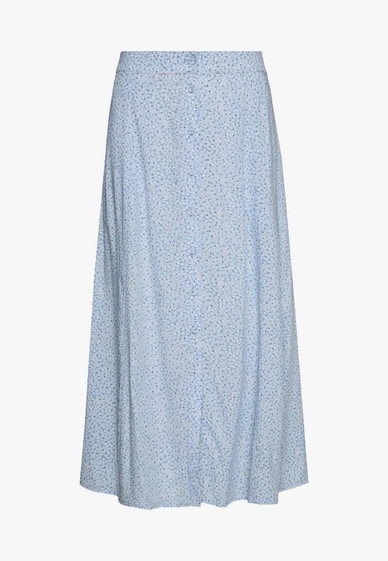 Freequent - Áčková sukně - blue