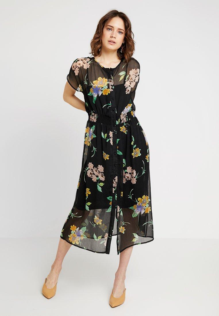 Freequent - Maxi dress - black
