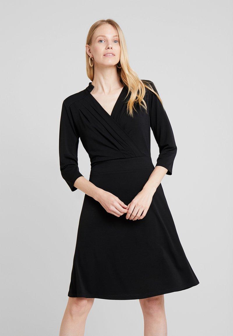 Freequent - Jersey dress - black