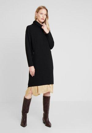 JAVA STRUCTURE - Gebreide jurk - black