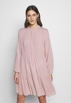 Shirt dress - shadow