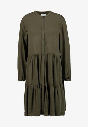 Shirt dress - olive night