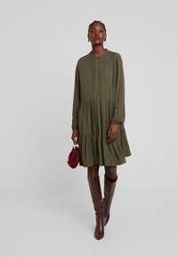 Freequent - Blousejurk - olive night - 1