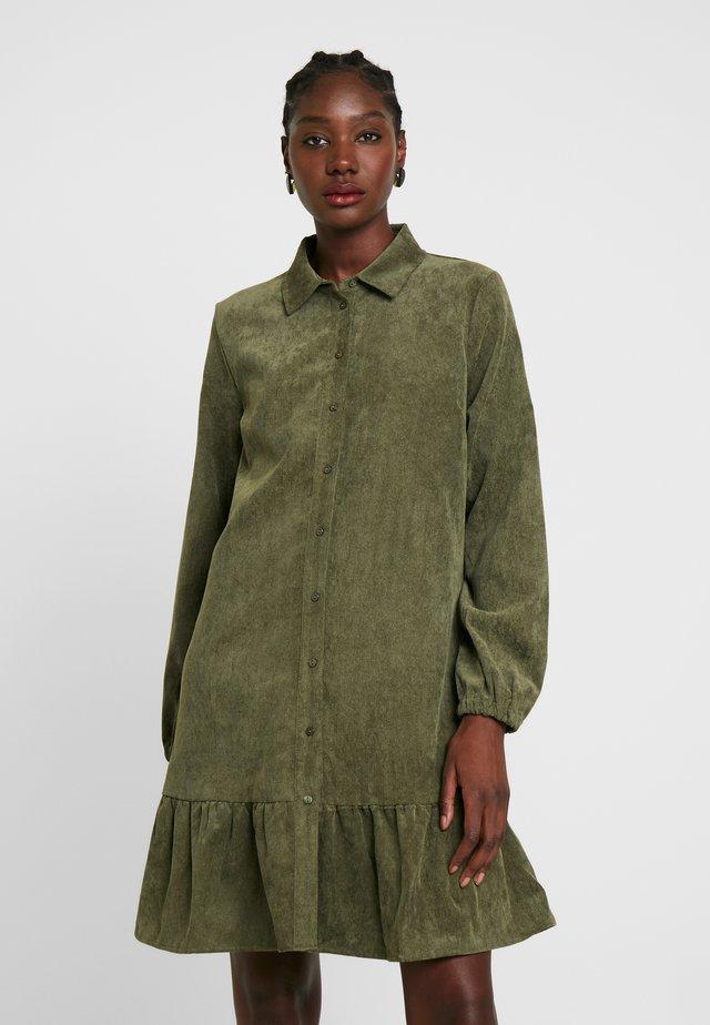 Vestido camisero - army green
