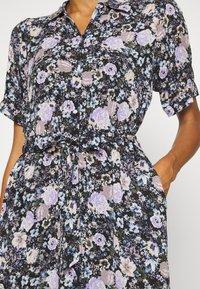 Freequent - LEAF - Shirt dress - violet tulip - 5