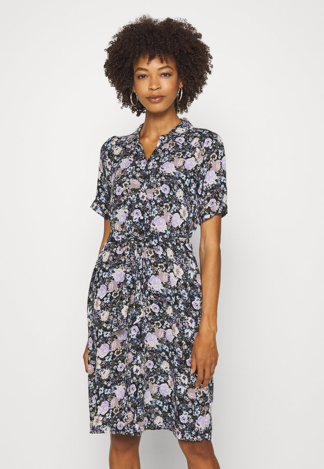 LEAF - Shirt dress - violet tulip