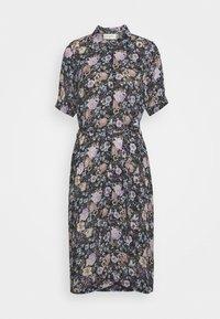 Freequent - LEAF - Shirt dress - violet tulip - 4