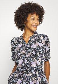 Freequent - LEAF - Shirt dress - violet tulip - 3