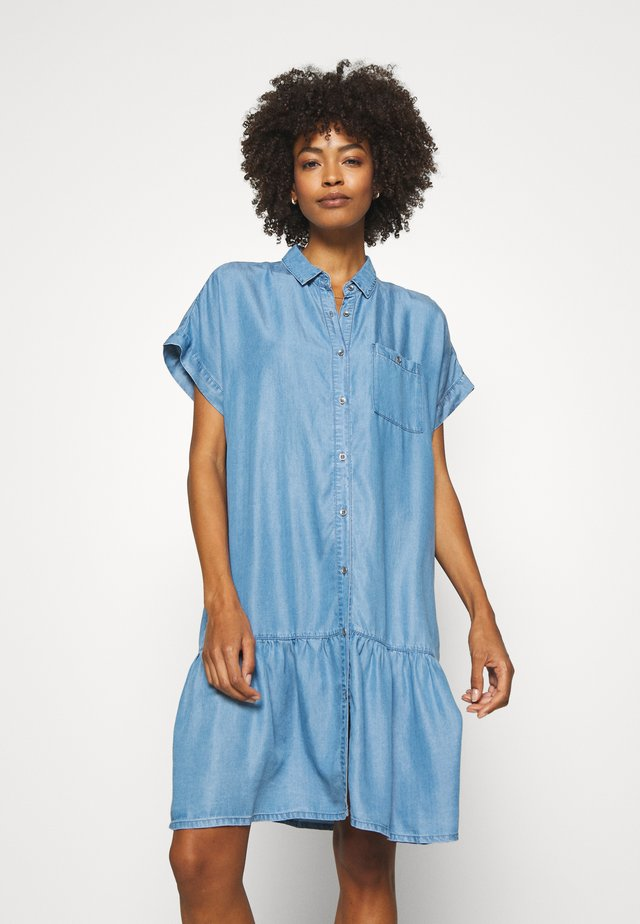 Shirt dress - light blue denim