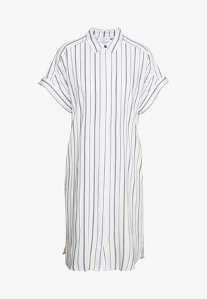 Skjortekjole - white/navy blazer