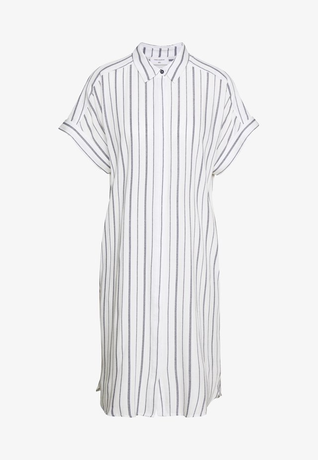 Blusenkleid - white/navy blazer