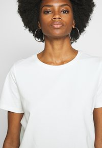 Freequent - FENJA TEE - T-shirts - offwhite - 4
