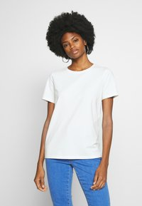 Freequent - FENJA TEE - T-shirts - offwhite - 0