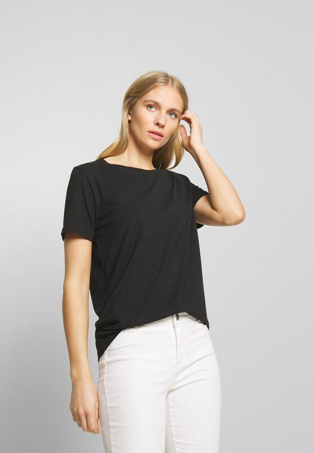 FENJA TEE - T-Shirt basic - black