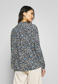 Freequent - ADNEY ELLO - Button-down blouse - navy - 2