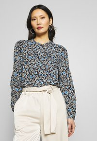 Freequent - ADNEY ELLO - Button-down blouse - navy - 0