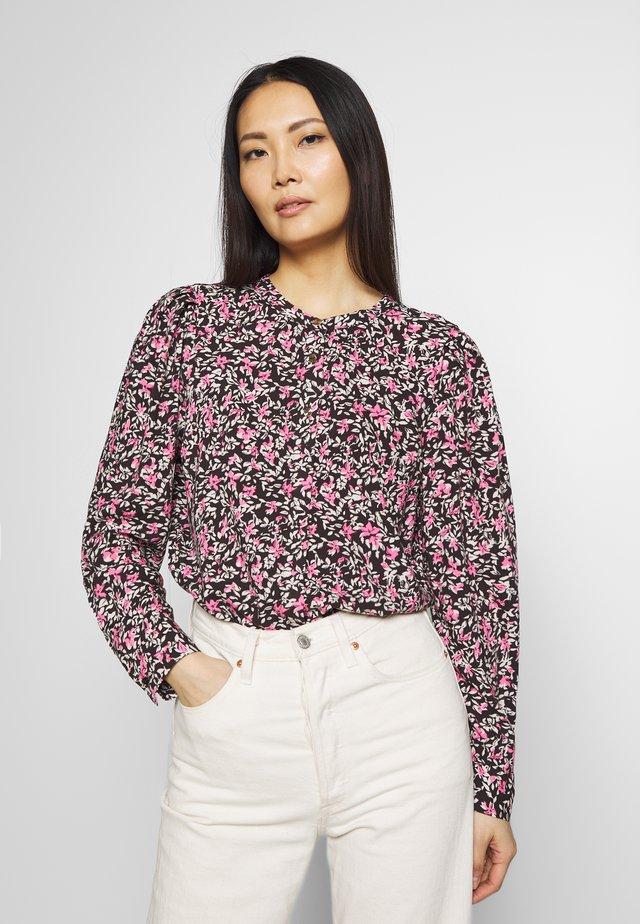 ADNEY ELLO - Button-down blouse - black mix