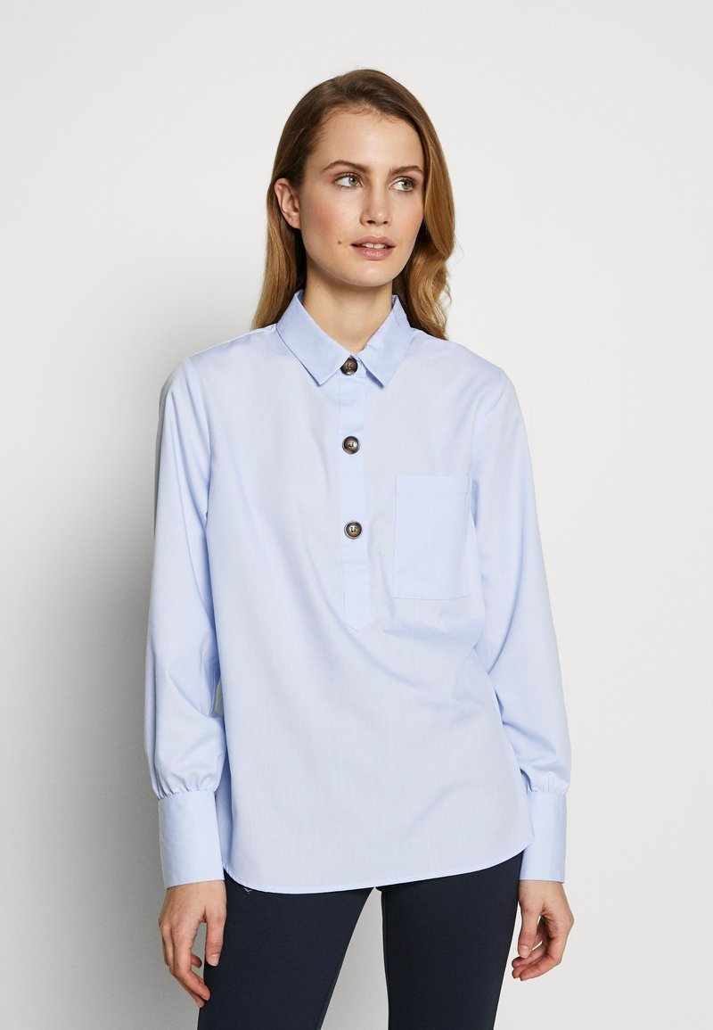 Freequent - FLYNN - Bluser - chambray blue