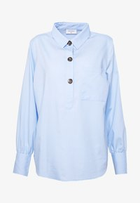 Freequent - FLYNN - Bluser - chambray blue - 4